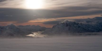 Vintervêr over Raftsundet