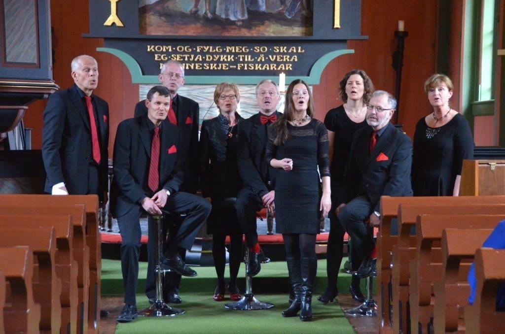 På biletet gjestar WOK Todalen kyrkje i 2013.  Arkivfoto: Jon Olav Ørsal