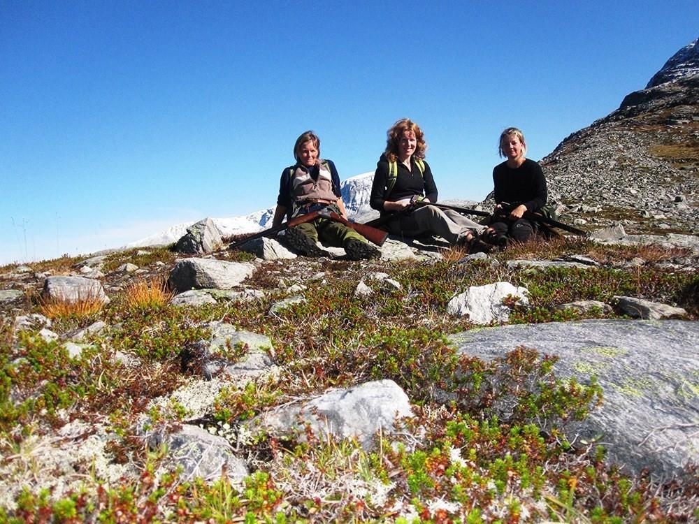 Rypejakt på Kårvatn.  Foto: SJFF