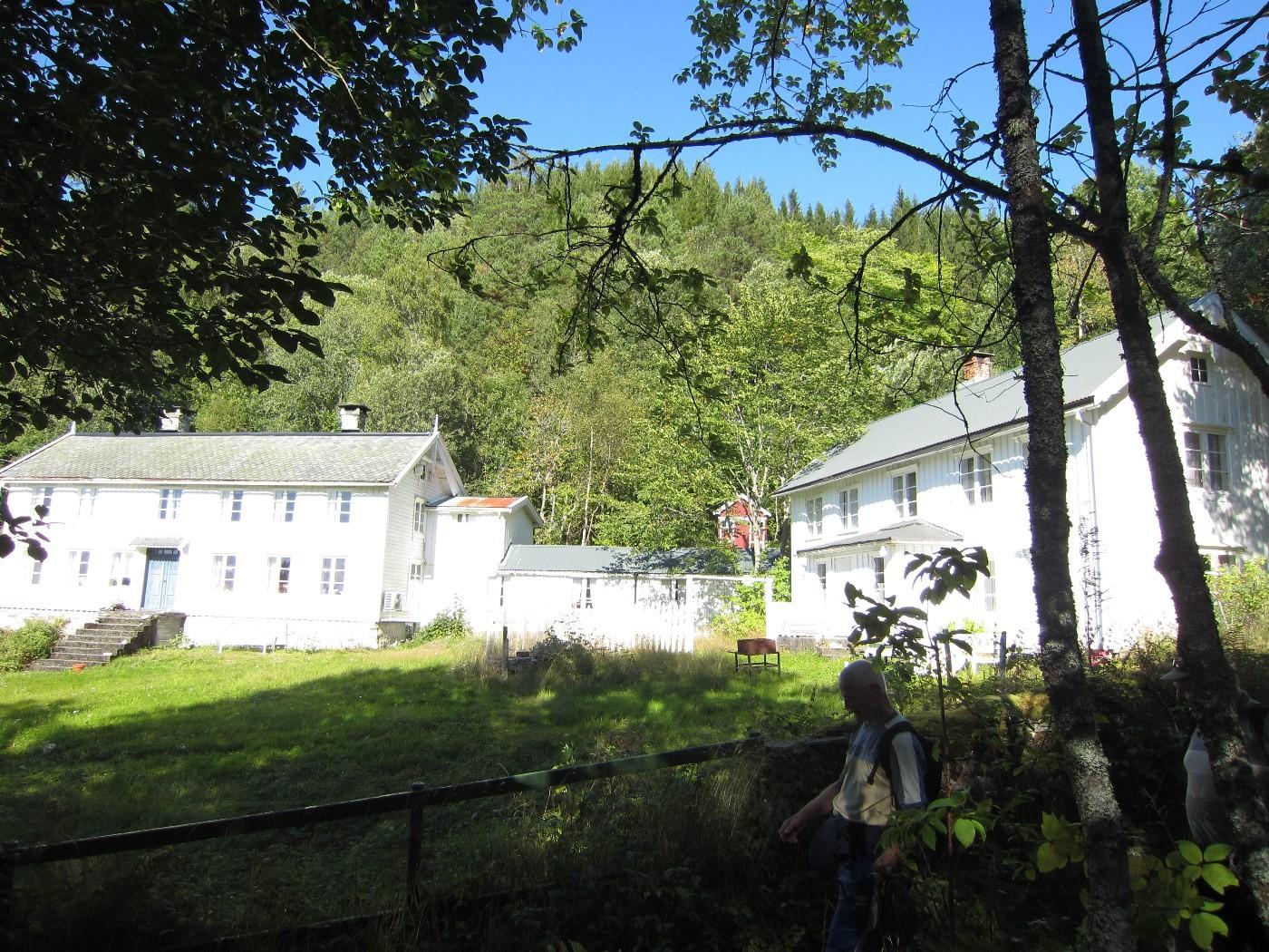 Mustershusa på Årnes Foto: Stangvik historielag