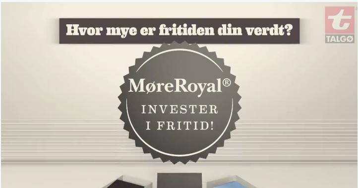 La deg inspirere av MøreRoyal®