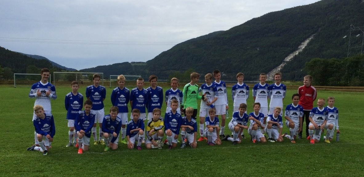 Oppladning til Norway Cup