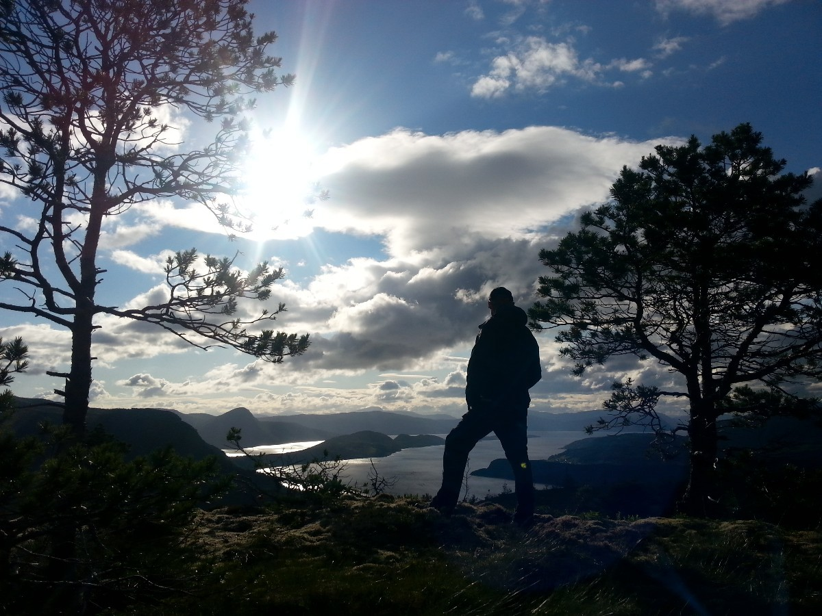 Månadens bilete: Fjord og fjell