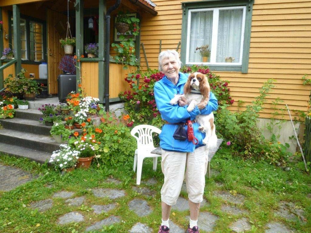 marit hagen fikk oppfylt draumen om å kome til Bjøråskaret.  Foto: Einy R. Elgsæther