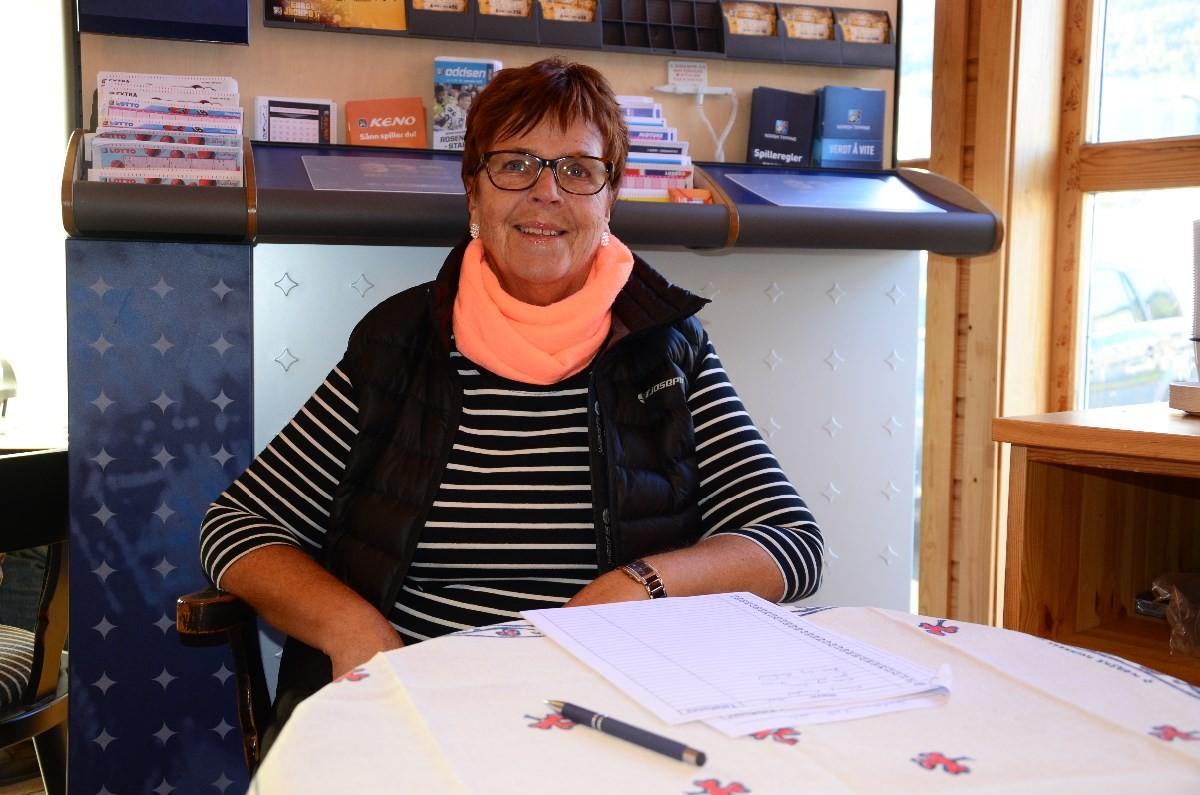 Loddsalet gikk unna fortalte Kari Kvendset.  Foto: Jon Olav Ørsal