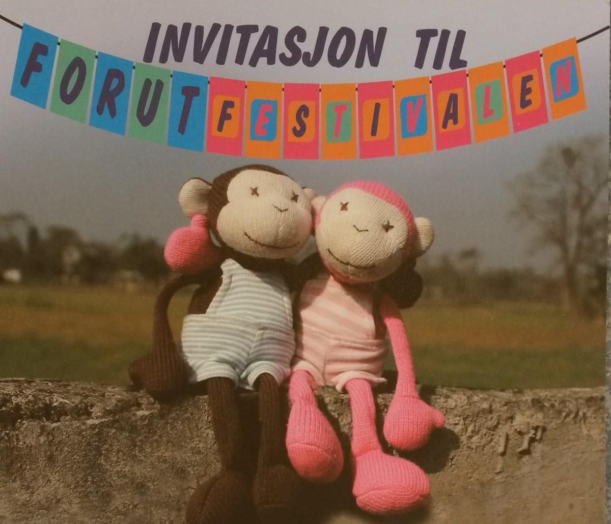 Alle er velkomne til FORUTfestival i oppvekstsentret.