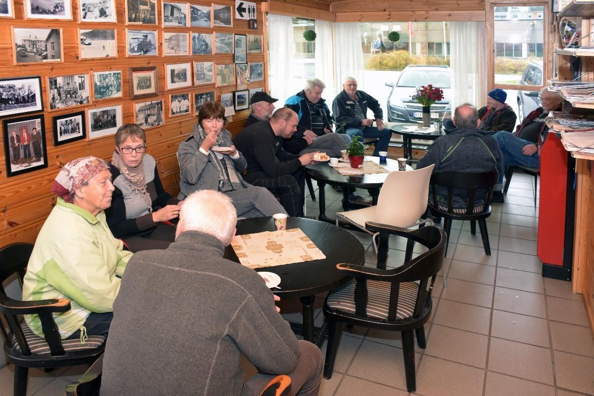 Lokal handledag på Matkroken laurdag - gratis kaffe og blautkake til alle.  Foto: Jon Olav Ørsal