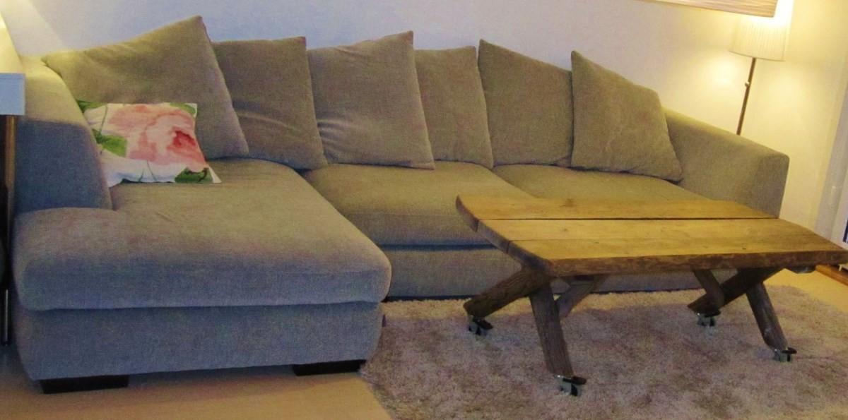 Har du ein ledig sofa? (Illustrasjonsbilde)
