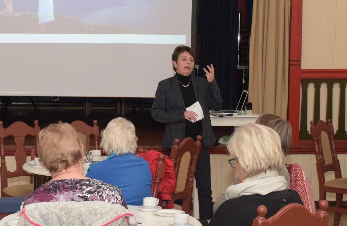 Ordførar Lilly Gunn Nyheim evaluerte erfaringane frå rassituasjonen i 2013.  Foto: Jon Olav Ørsal