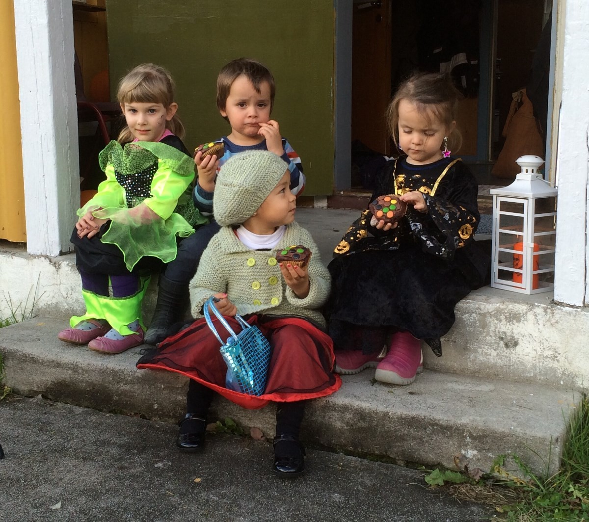 Halloweenfest i Skulstuå