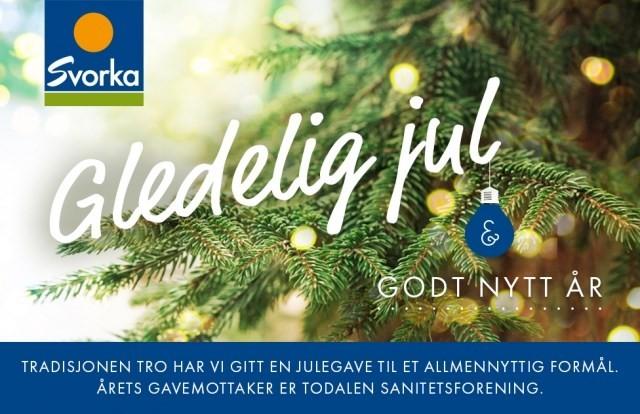 Årets Svorkagave til Todalen Sanitetsforening