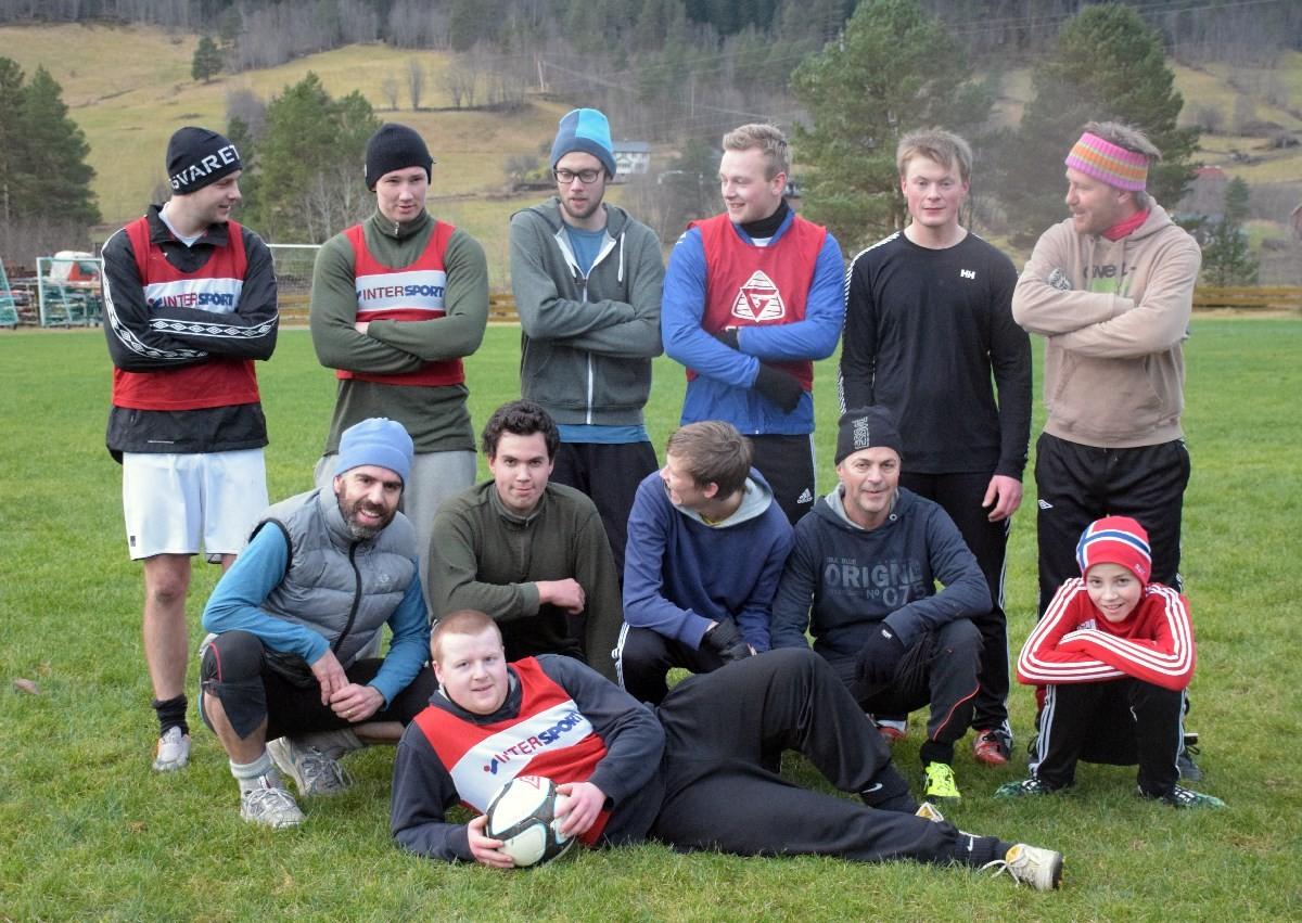 Todalen fotballag reknar Bøfjordlaget som lett match, -- eller kanskje så er det ikkje det?  Arkivfoto: Todalen.no Arkivfoto Jon Olav Ørsal