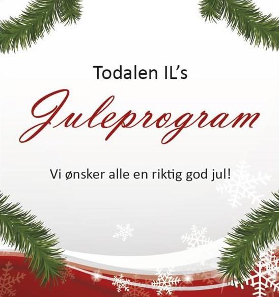 Onsdag finn du juleprogrammet i postkassen din!