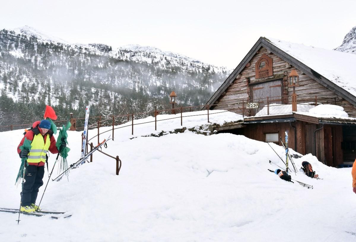 Butikken til Kårvatn Fjellutstyr   Arkivfoto: Jon Olav Ørsal