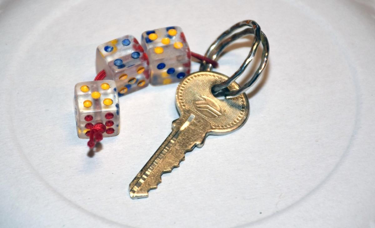 Saknar du ein nøkkel?