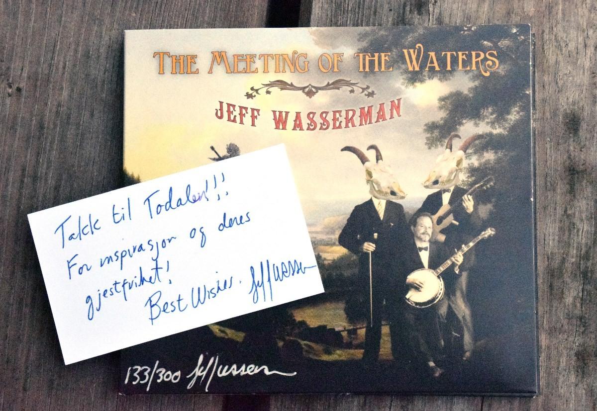 Coveret til den nye CDn til Jeff Wasserman ser slik ut.