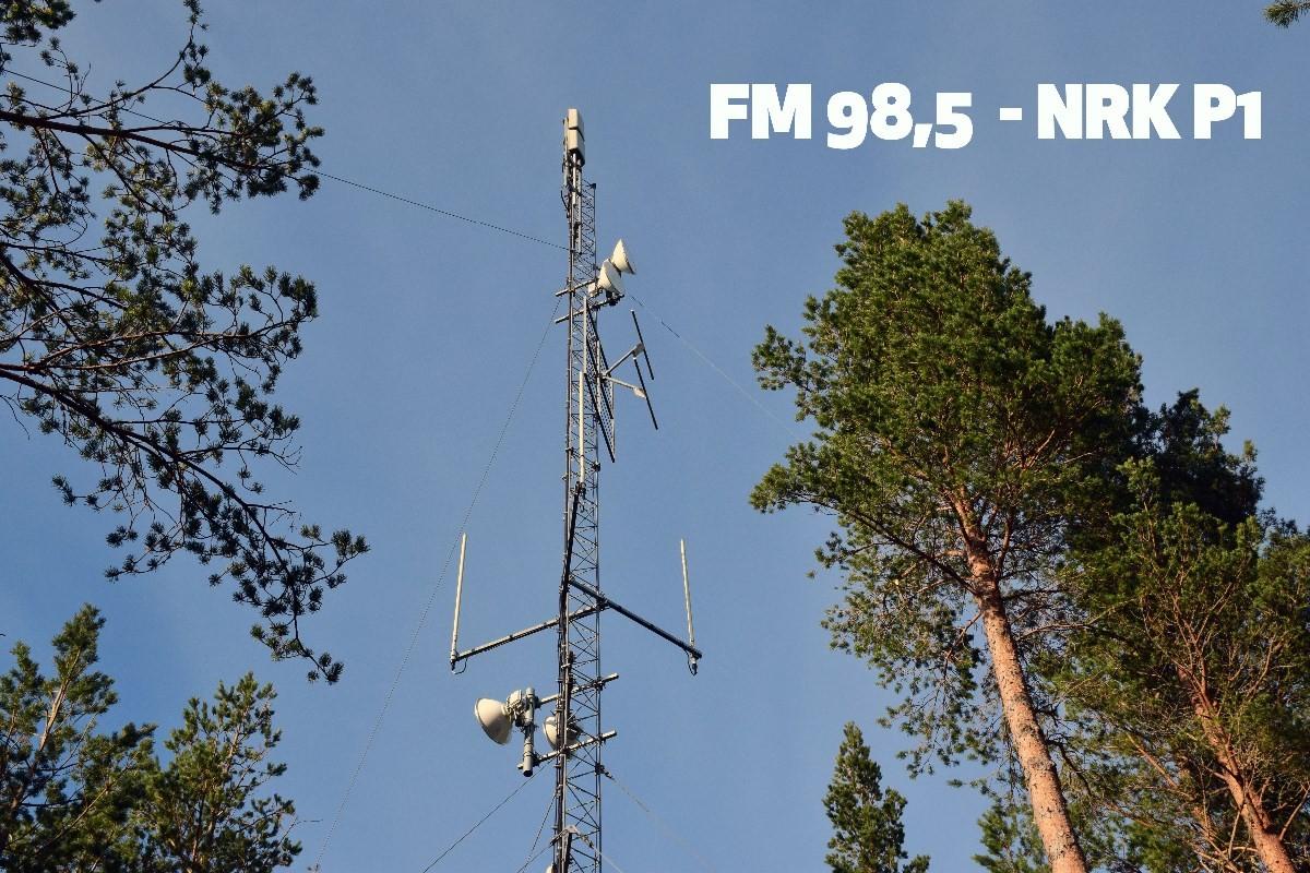 Ved midnatt er det slutt etter 50 år med FM-sendingar.   Foto: Jon Olav Ørsal