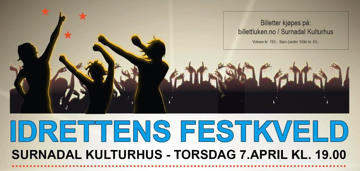 Torsdag: Idrettens festkveld i kulturhuset