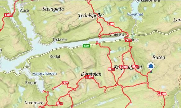 Kårøyan kart