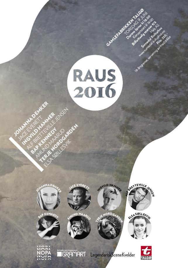 Plakat RAUS2016