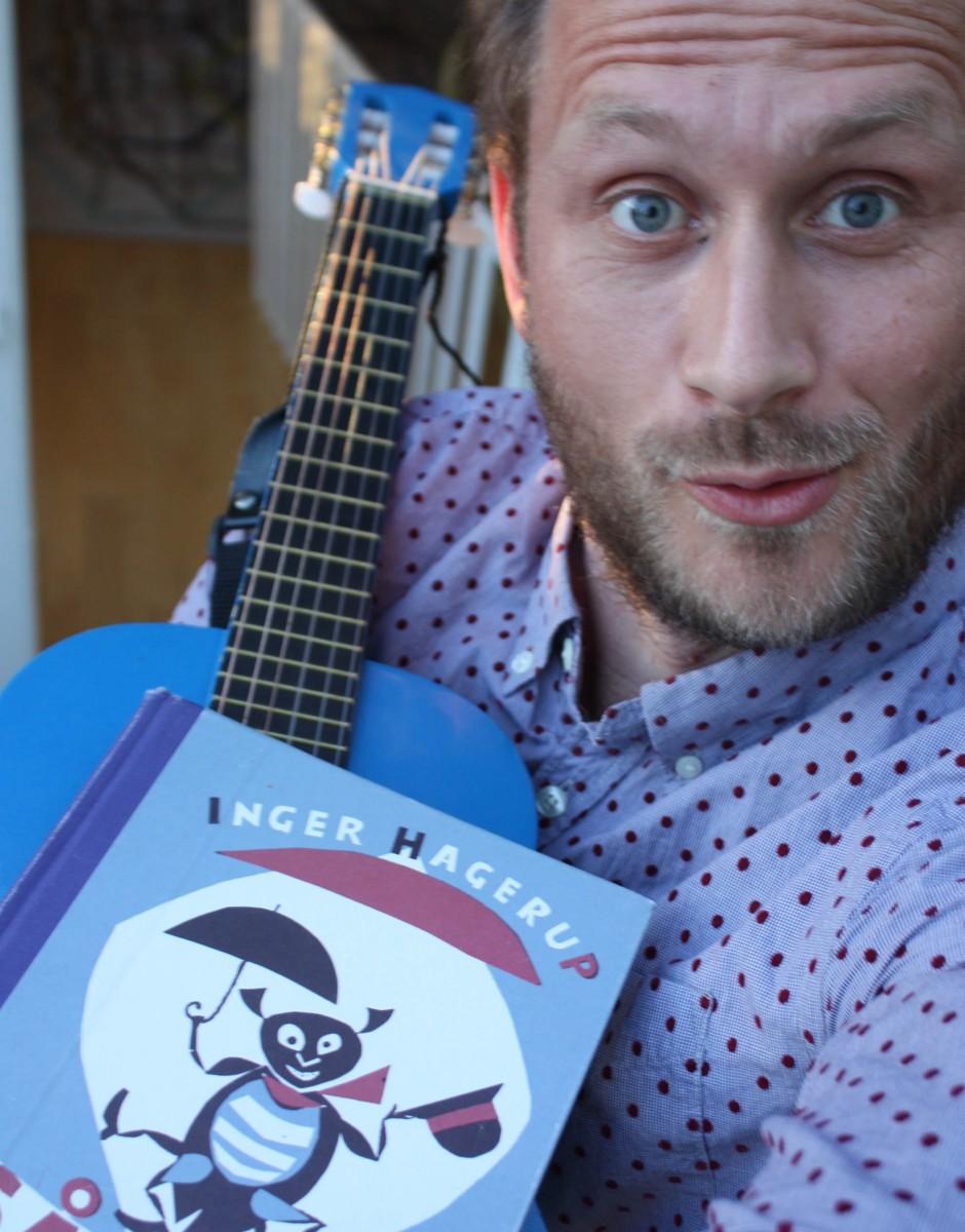 Eirik Husby har tolka hagerup på Todalsk.  Foto: Eiriks selfie