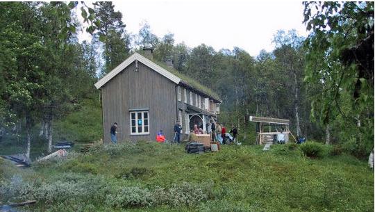 Vaulens venner inviterer til markaslått på Vaulen.  Foto: Arkiv