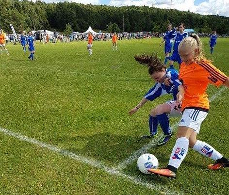 Todalsjentene på scoringslista i Norway Cup