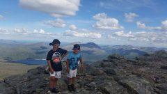 Adrian og Jacob på snota.