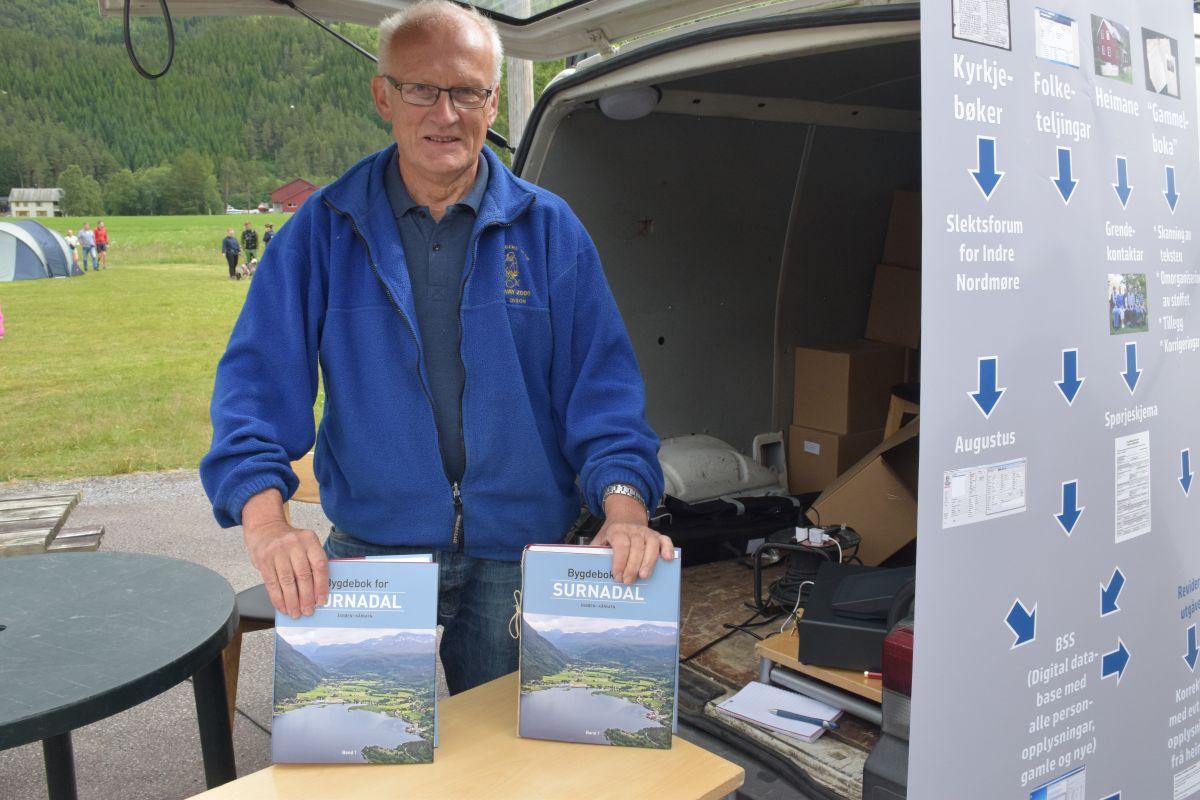 Kjøp den nye bygdeboka for Todalen, seier Lars Polden