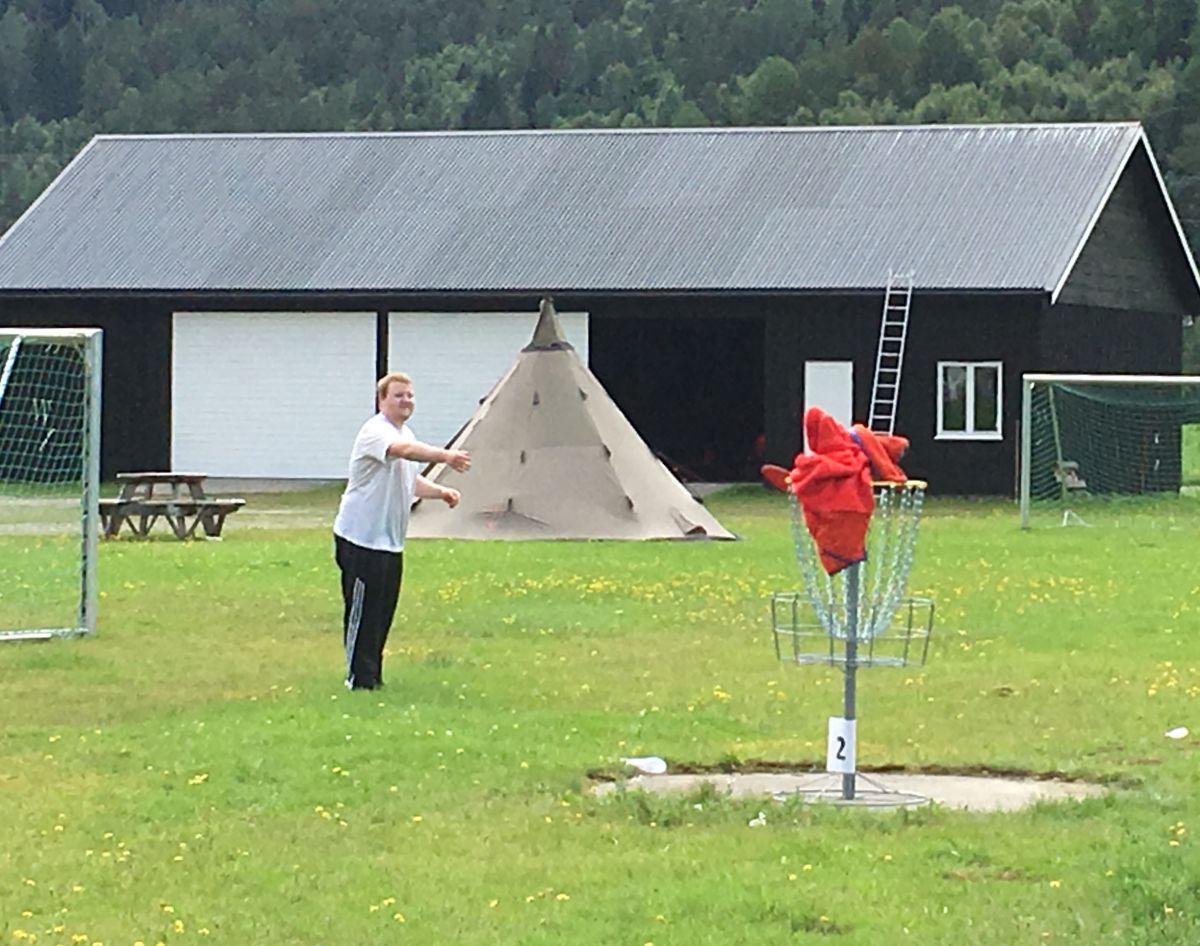 Frisbeegolf i Todalen