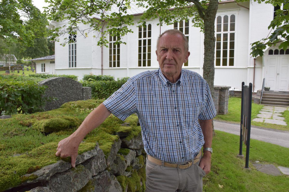 Torbjørn Brøske er vikarprest under nyttårsgudstenesta i Todalen kyrkje    Arkivfoto: Jon Olav Ørsal