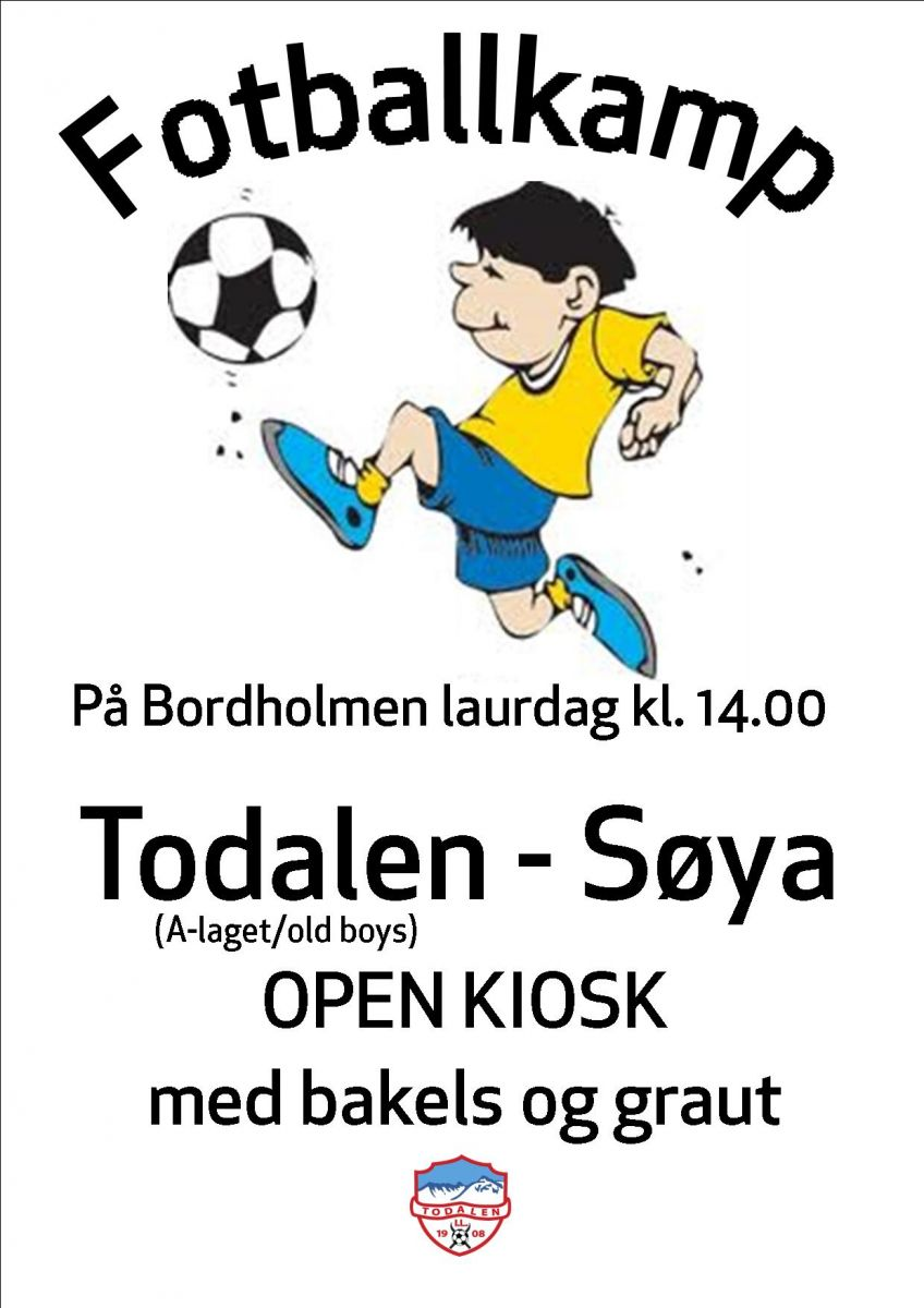 Plakat todalen_Søya