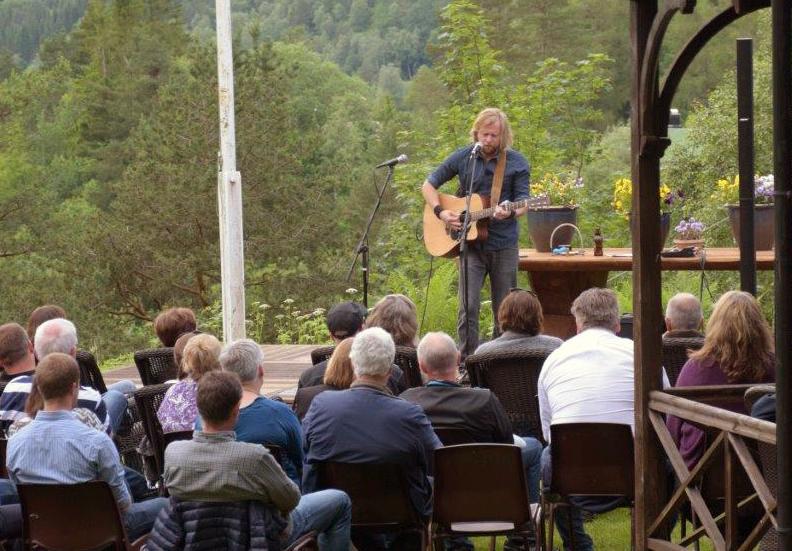 Terje Nordgarden er tilbake med konsert lørdag kveld!  Arkivfoto: Jon Olav Ørsal