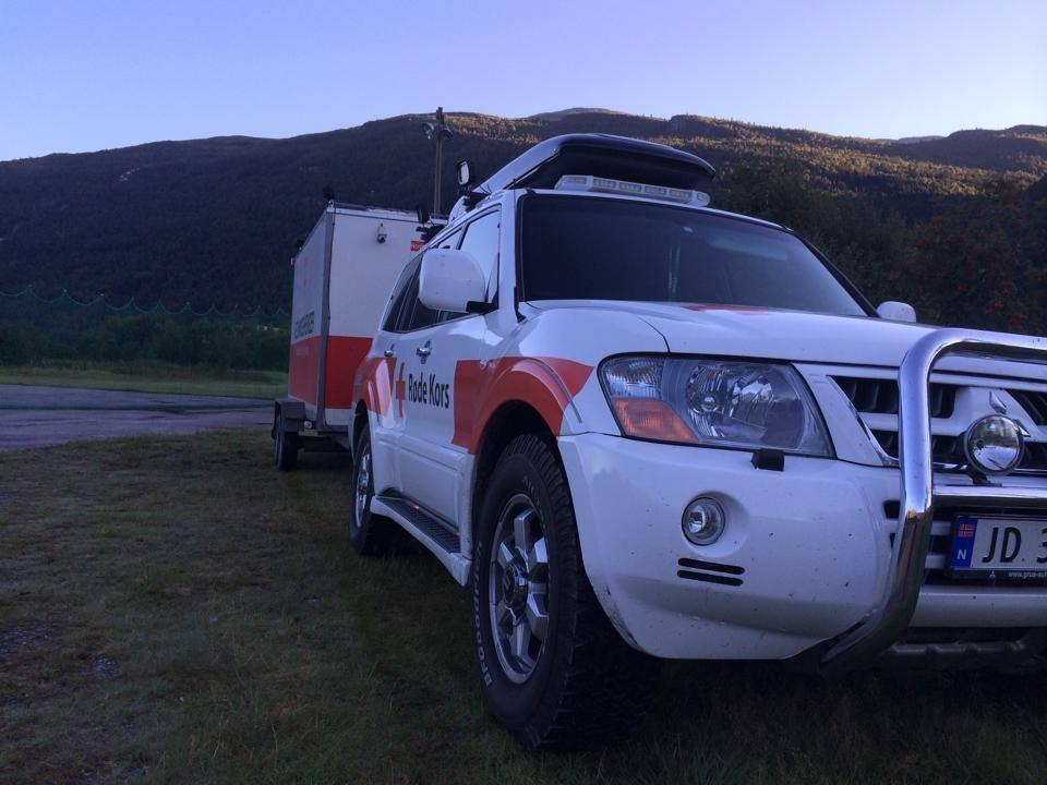 Nok eit vellykka redningsoppdrag for Røde Kors