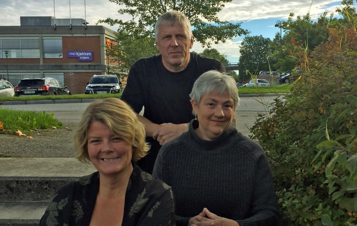 Lilli Husby, Jon Nordvik og Ella Bolme er tre av dei som sitt i arbeidsgruppa for ny plan for idrett, fysisk aktivitet og friluftsliv i Surnadal.  Foto: Surnadal kommune