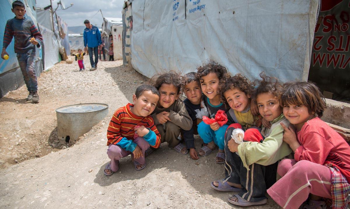 TV-aksjonen skal gi livsviktig hjelp til mennesker rammet av krig og konflikt. Foto: Olav A. Saltbones