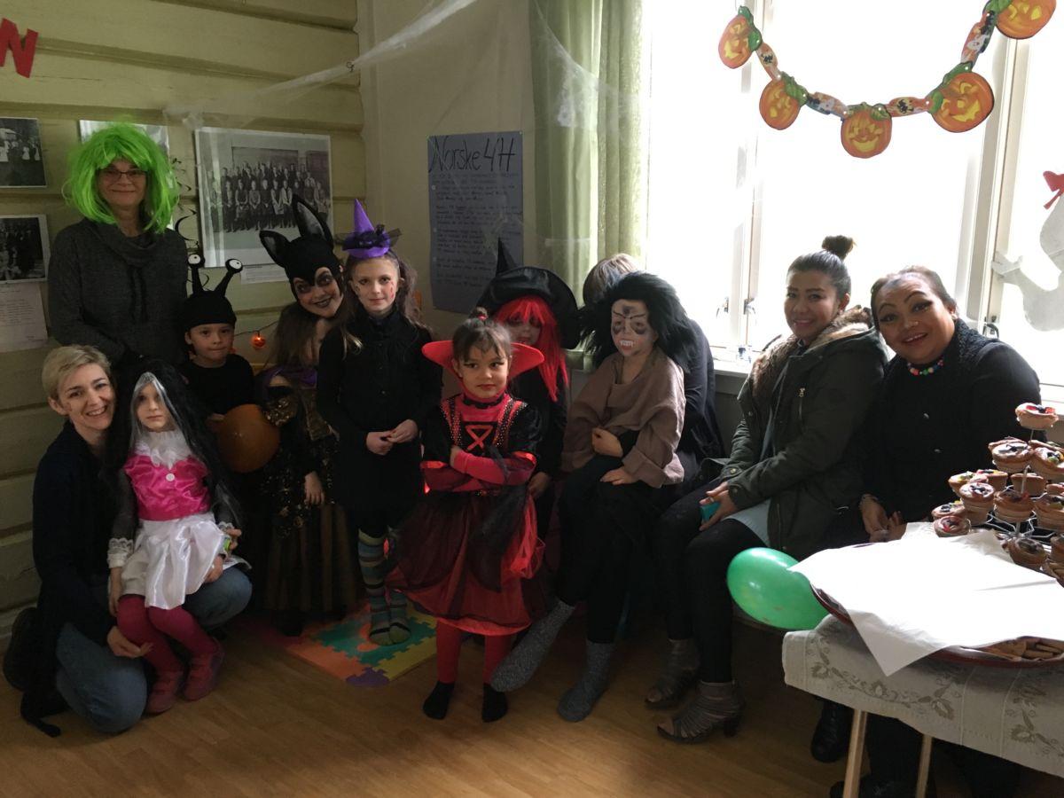 Vellykka Halloweenfest