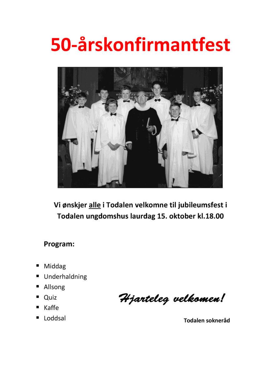 plakatforslag_50-arskonfirmantfest2016