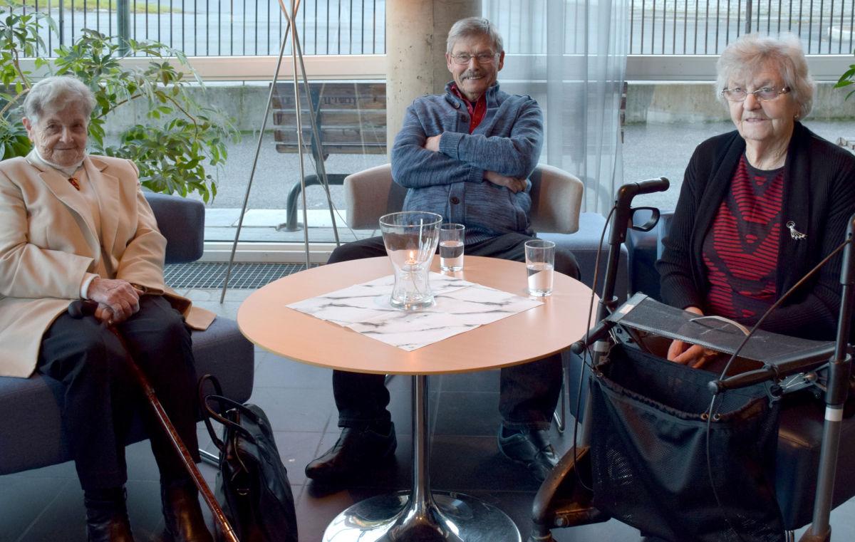 Ingrid Todalshaug Ørsahl, Per Reiten og Jenny Kvendset gledde seg til å sjå