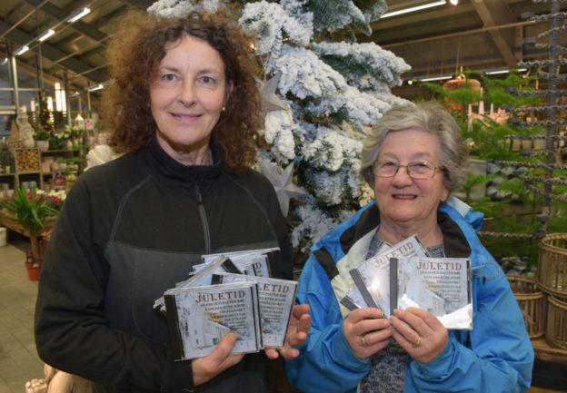 """Todalskoret er med på produksjonen av JuleCD'n """"Juletid"""".  Borghild Talgø og May Elisabeth Holten.   Foto: Jon Olav Ørsal"""