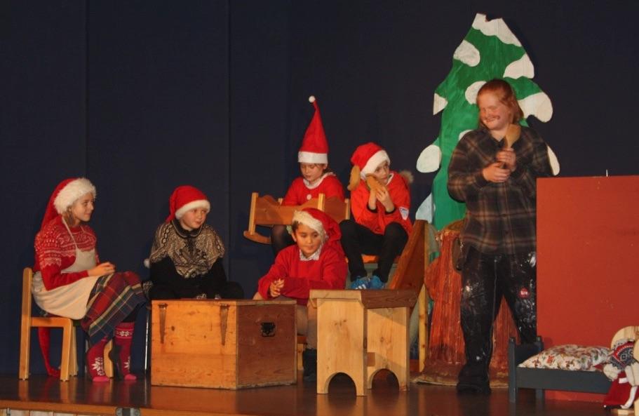 Den tradisjonelle juleavslutninga unnagjort for i år