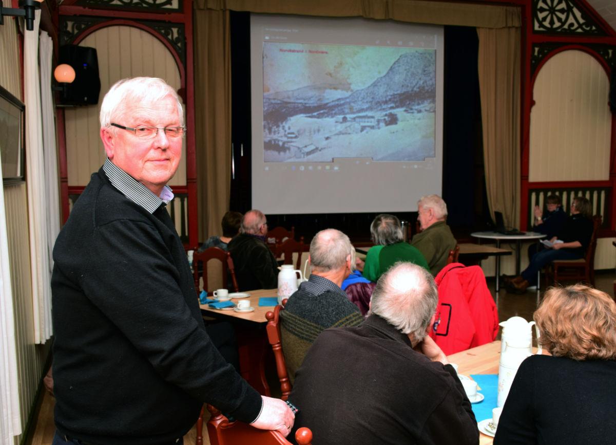 John Moe og resten av styret fikk fornya tillit på Todalen historielags årsmøte.  Foto: Jon Olav Ørsal
