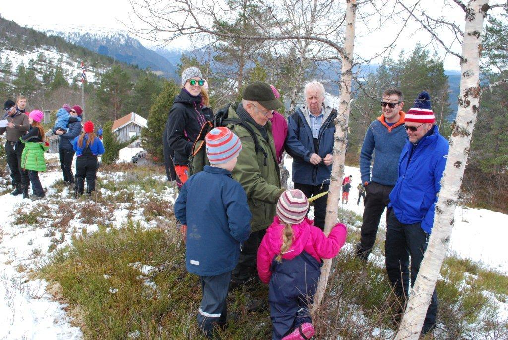 Laget til Nina Marie Solem Måøy som ble nr 2. Foto: Sverre Kjølstad