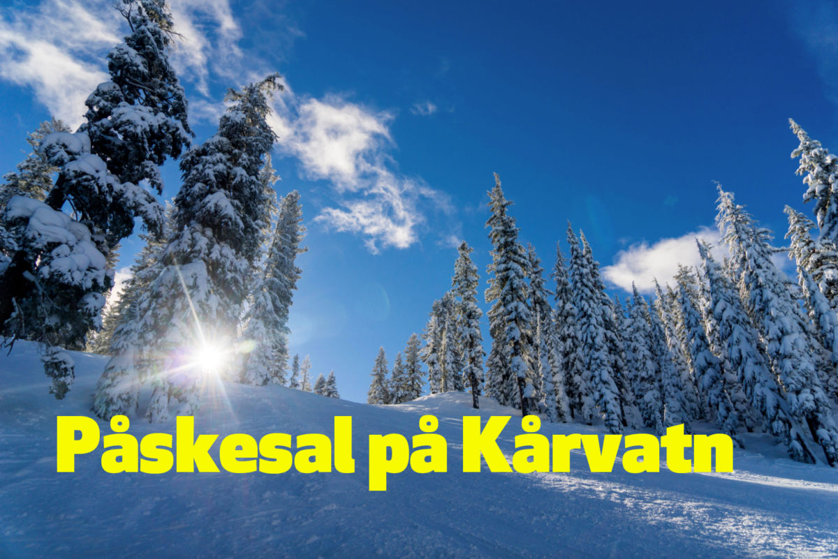 Frå laurdag og fram til påske er det storstila påsketilbud på Kårvatn Fjellutstyr - kjem du?  Foto: KF