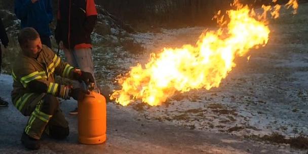 Kurs i Utførelse av varme arbeider i Todalen