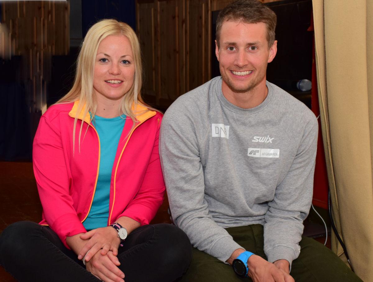 Ingrid og nils Erik er sambuarar - torsdag var dei til Todalen og heldt foredrag på TILs temakveld.  Foto: Jon Olav Ørsal