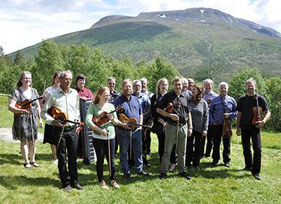 Konsert med Nordmøre spelmanslag