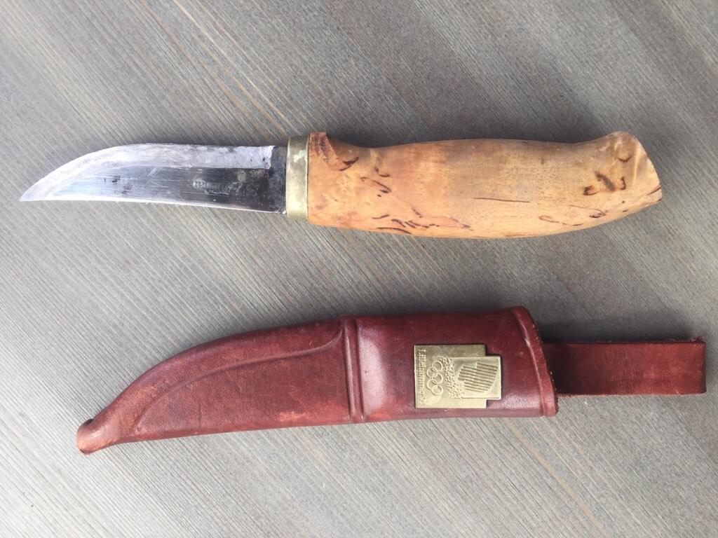 Har du mista kniven din? Foto: Terje N