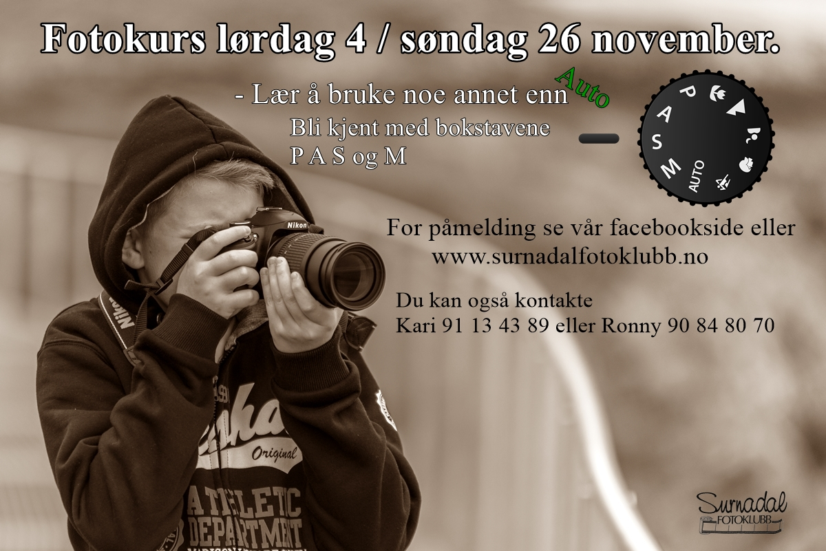 Har du lyst til å lære litt mer om fotografering?