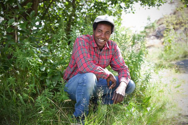 Kultursjå  med  «Farmen-Kristian»  i  Surnadal